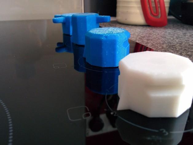 参数化圆形旋钮 3D模型  图2