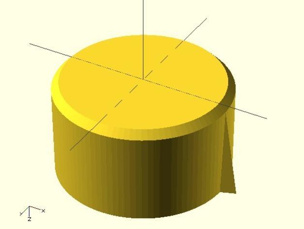 参数化圆形旋钮 3D模型  图3