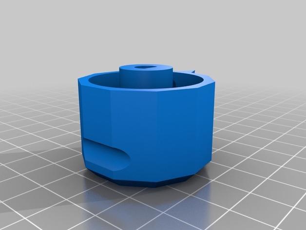 参数化圆形旋钮 3D模型  图6