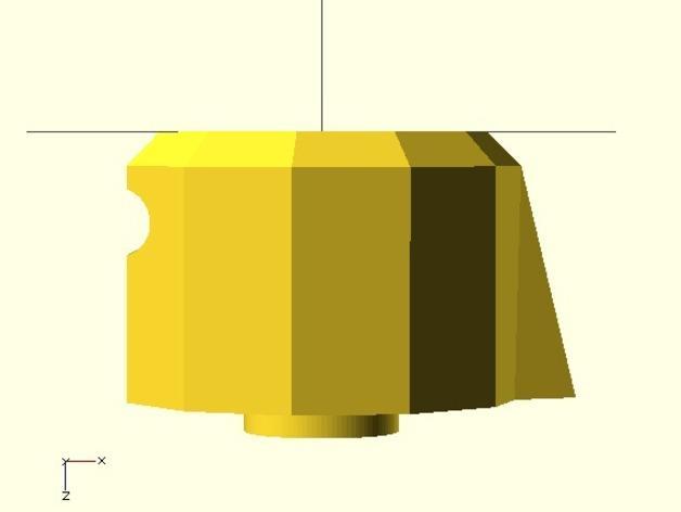参数化圆形旋钮 3D模型  图5