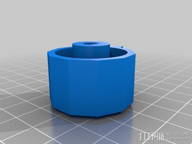 参数化圆形旋钮 3D模型  图8