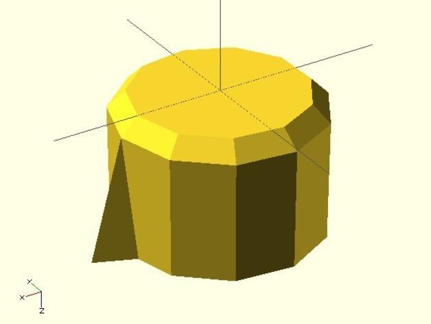 参数化圆形旋钮 3D模型  图7