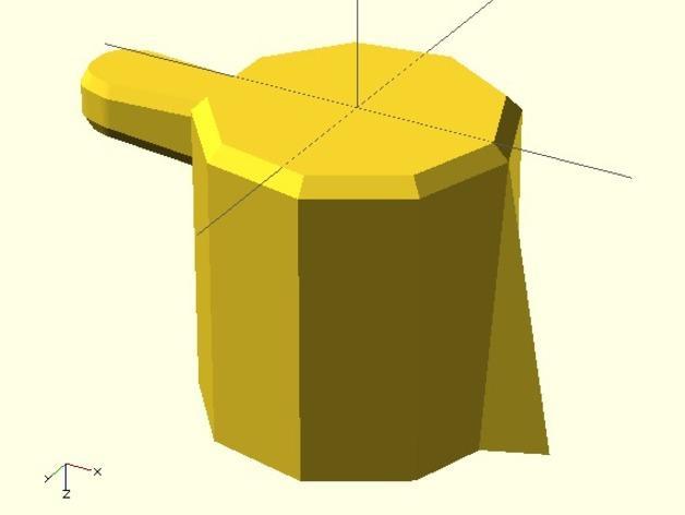 参数化圆形旋钮 3D模型  图9