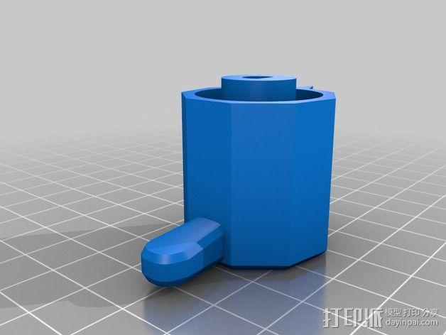 参数化圆形旋钮 3D模型  图10