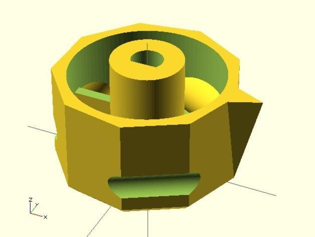参数化圆形旋钮 3D模型  图11