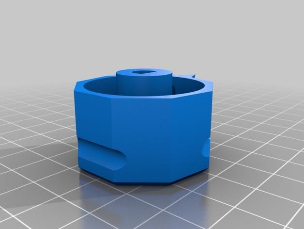 参数化圆形旋钮 3D模型  图12