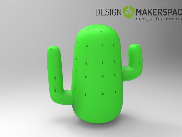 仙人掌牙签架 3D模型  图2
