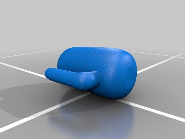 仙人掌牙签架 3D模型  图3