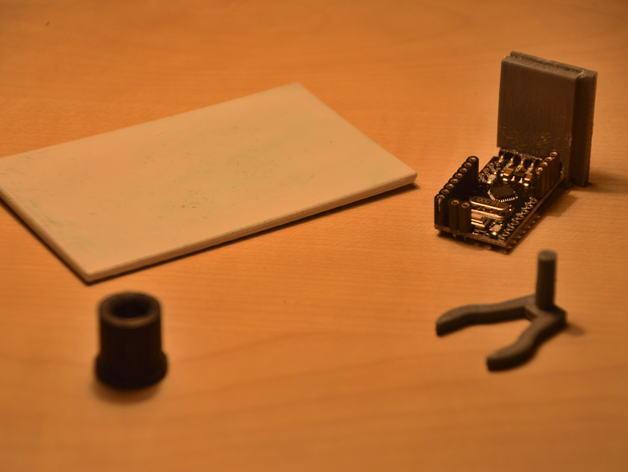 3D打印温度计/时钟 3D模型  图9