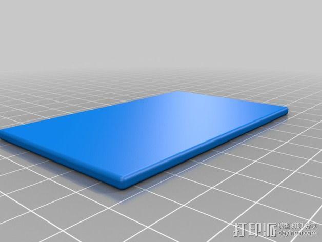 3D打印温度计/时钟 3D模型  图14