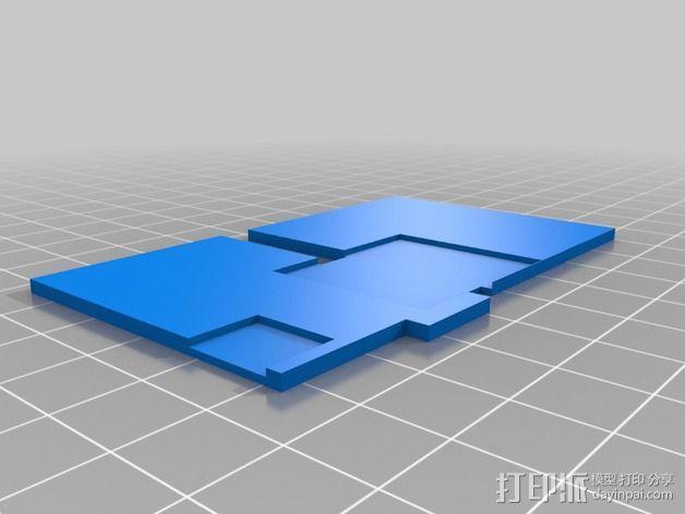 3D打印温度计/时钟 3D模型  图13