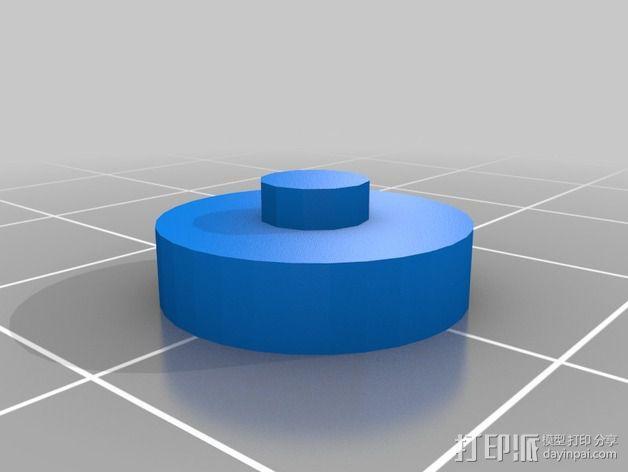 3D打印温度计/时钟 3D模型  图17