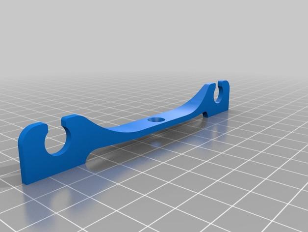 壁式插线板线夹 3D模型  图4