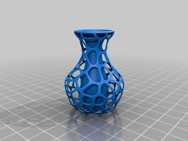 混合双层花瓶 3D模型  图1