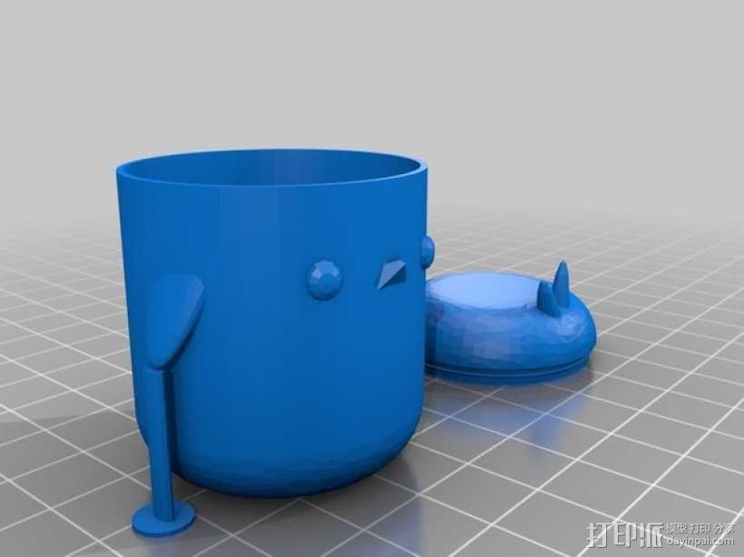 复活节礼物杯 3D模型  图4