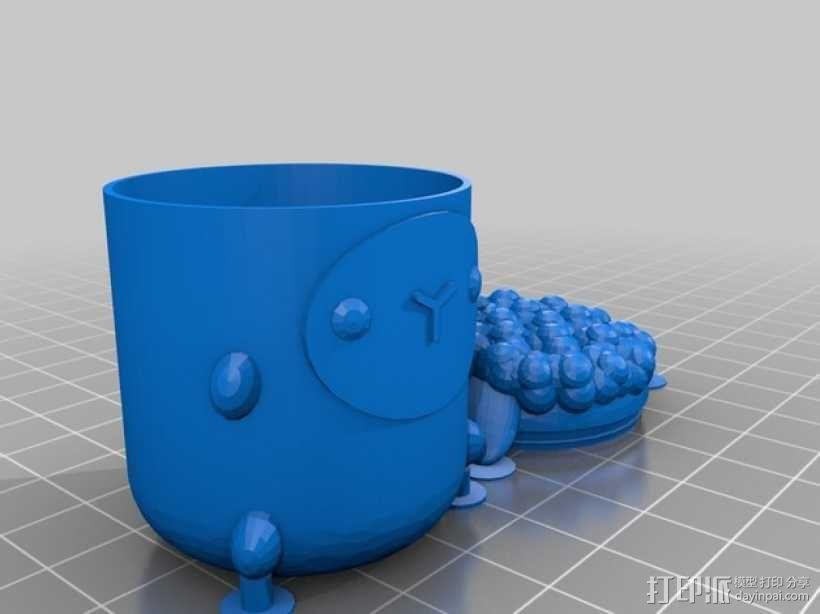 复活节礼物杯 3D模型  图6