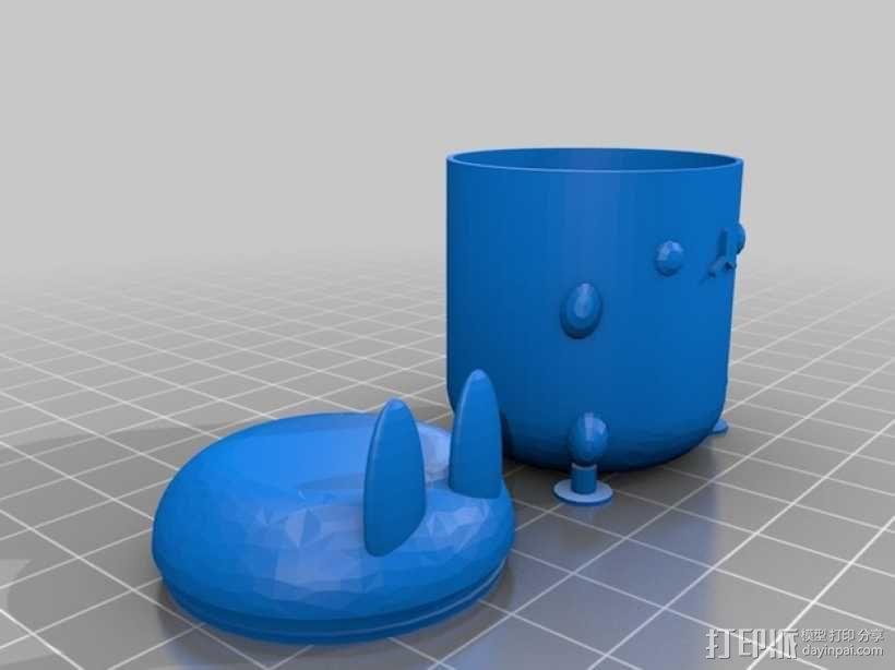 复活节礼物杯 3D模型  图5