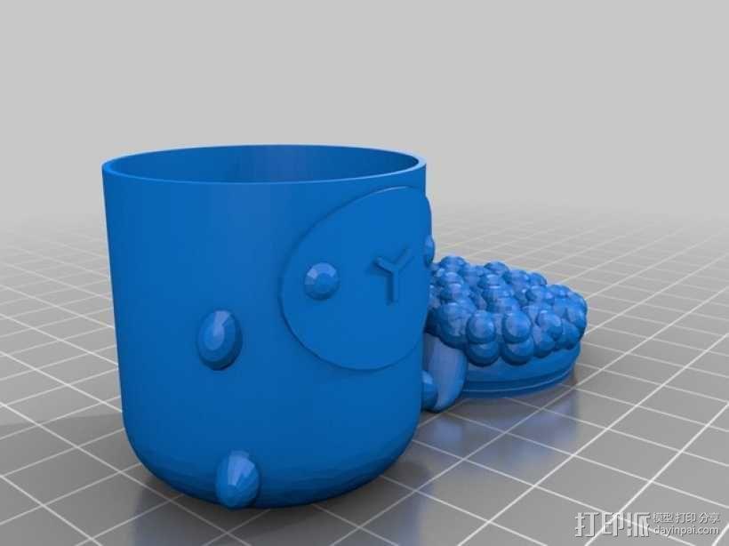 复活节礼物杯 3D模型  图7