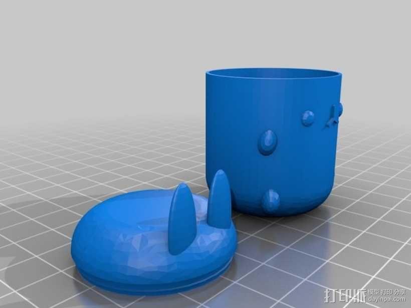 复活节礼物杯 3D模型  图8