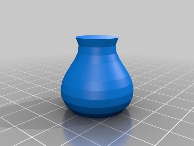 定制化贝塞尔曲线花瓶/碗/缸 3D模型  图5