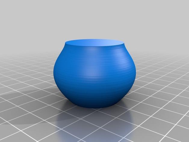 定制化贝塞尔曲线花瓶/碗/缸 3D模型  图6