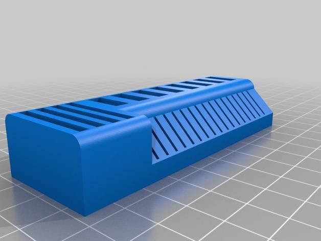 定制化USB卡/SD卡架 3D模型  图2