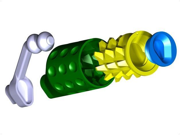 迷你研磨机 3D模型  图12