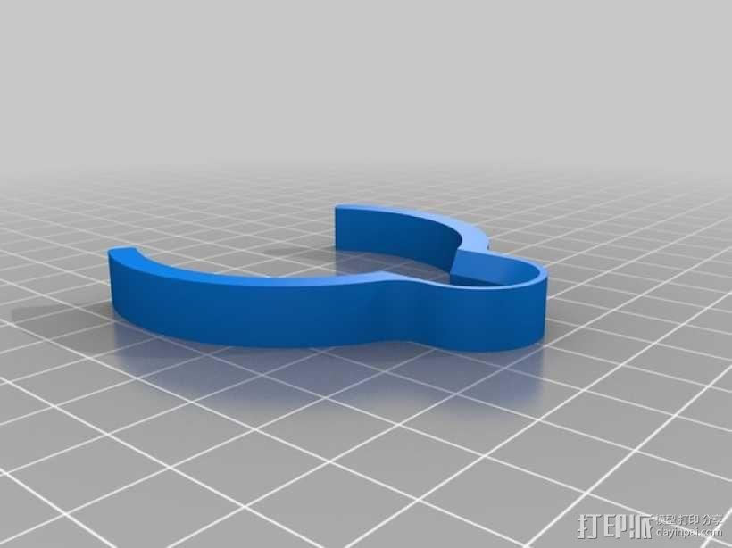 迷你研磨机 3D模型  图15
