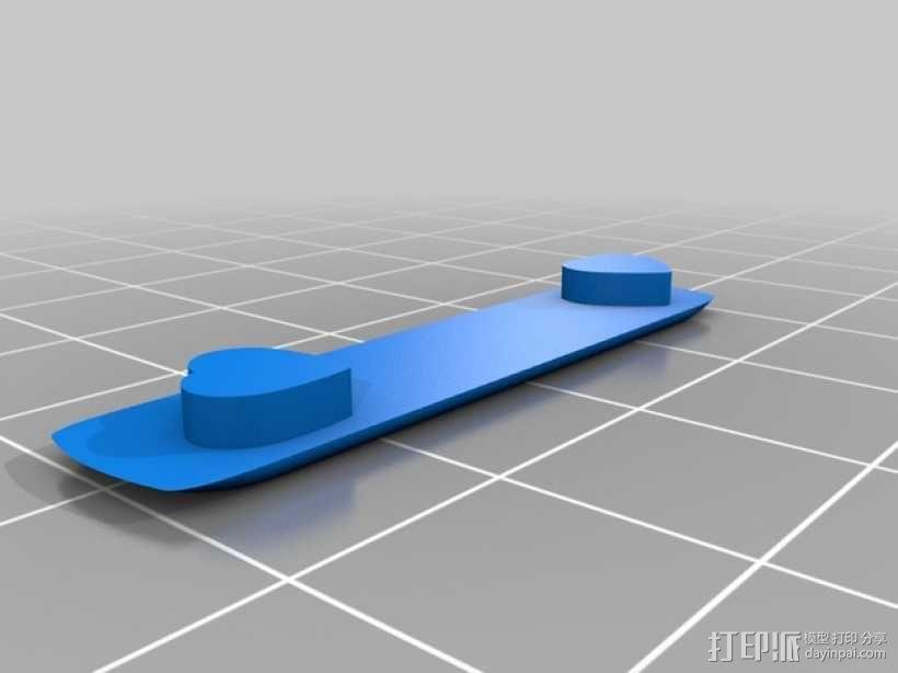 心形糖果礼物盒 3D模型  图4