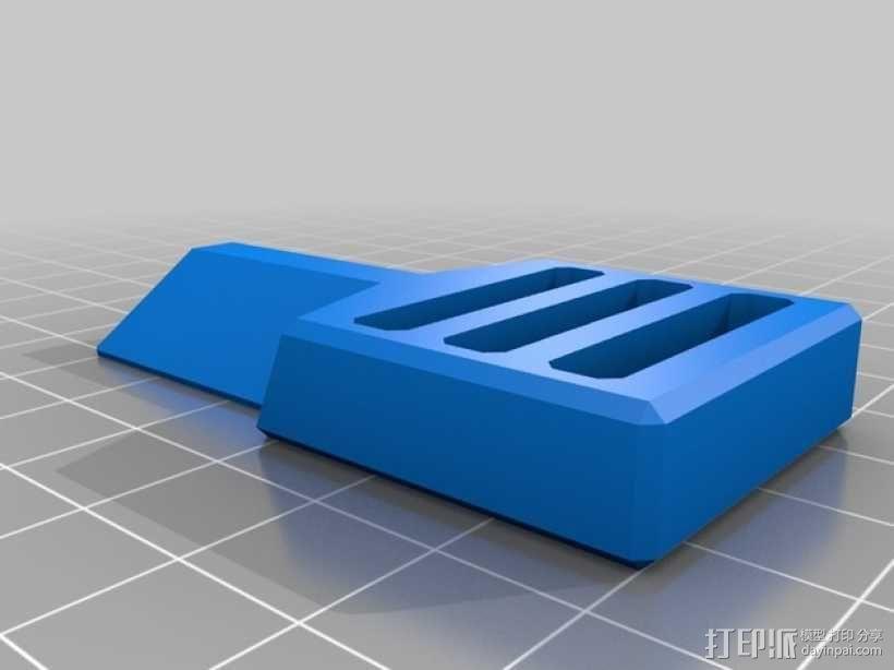 简易皮带扣 3D模型  图5
