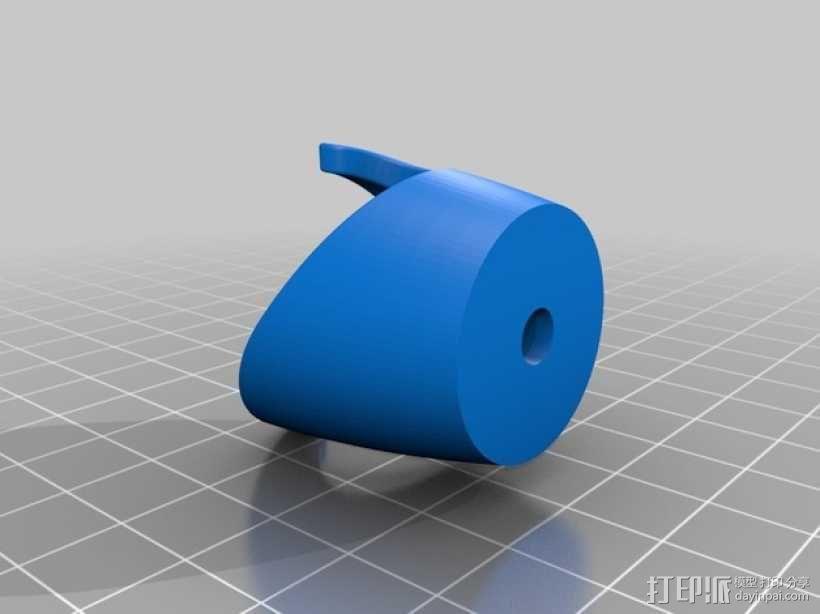 牙刷固定架 3D模型  图2