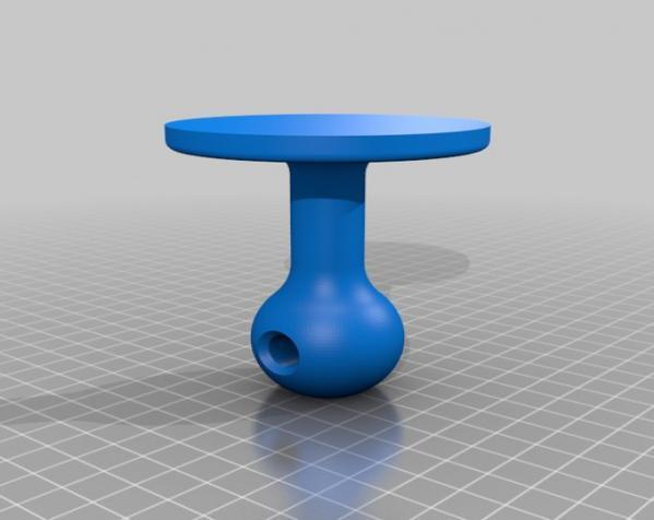 迷你个性化印章 3D模型  图2