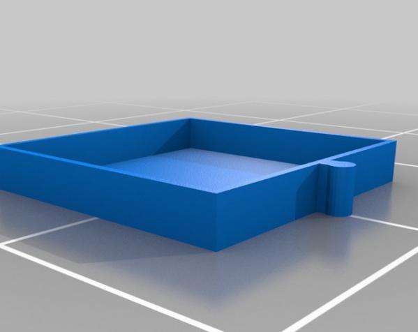 五金配件迷你抽屉 3D模型  图2