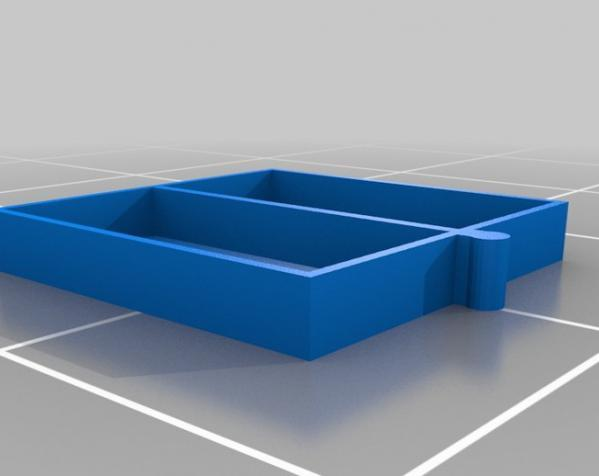 五金配件迷你抽屉 3D模型  图3