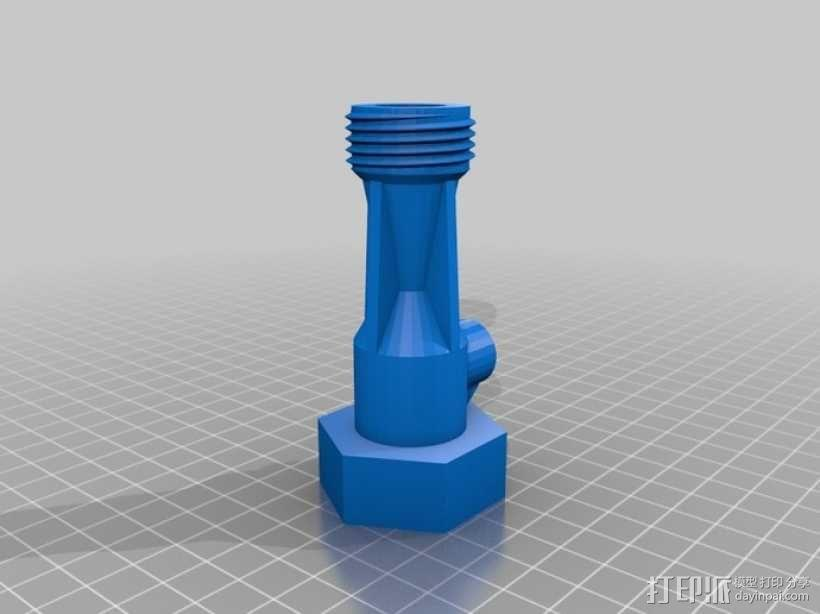花园浇水用软管抽水泵 3D模型  图4