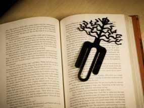 树的起源 -- 书签 3D模型