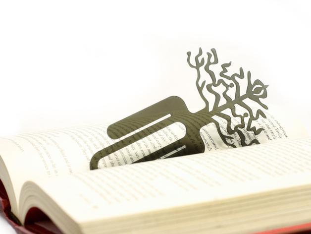 树的起源 -- 书签 3D模型  图3