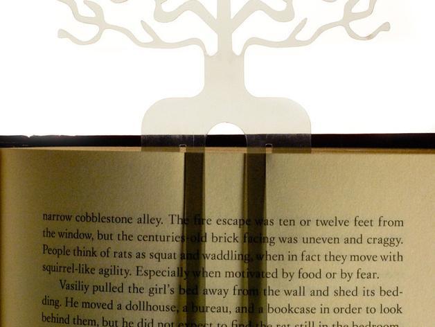 树的起源 -- 书签 3D模型  图2