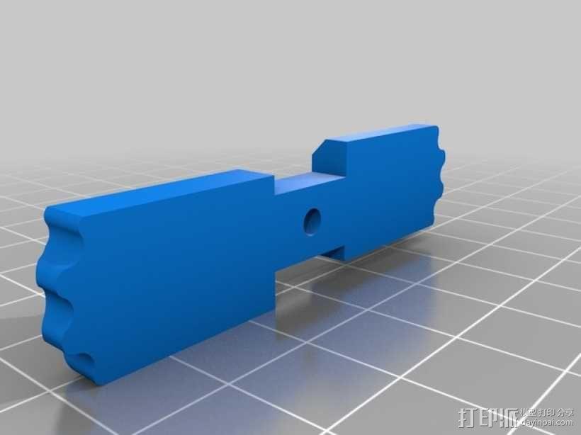 便携式口香糖盒 3D模型  图2