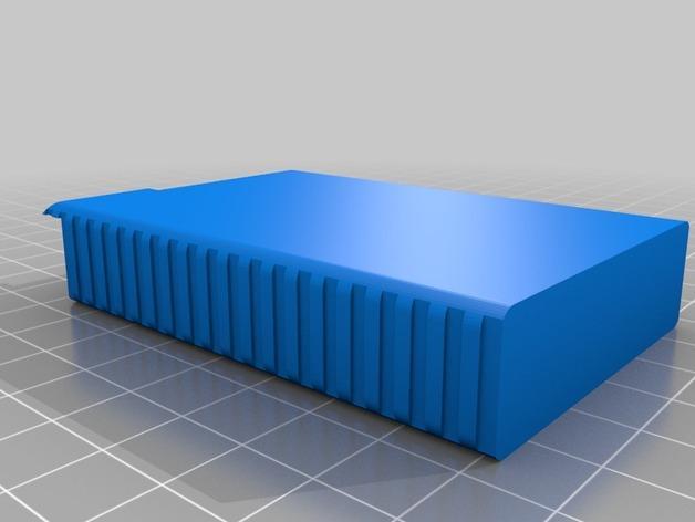 便携式口香糖盒 3D模型  图3