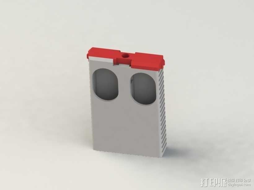 便携式口香糖盒 3D模型  图4