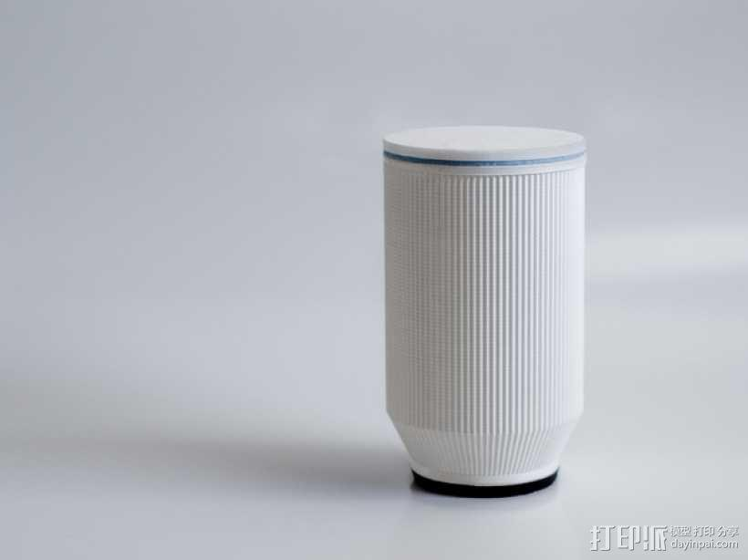 家用精致美观器皿 3D模型  图2