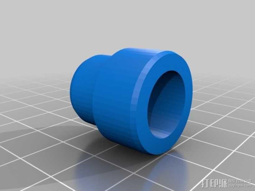 水族馆空气水泵零部件 3D模型  图5
