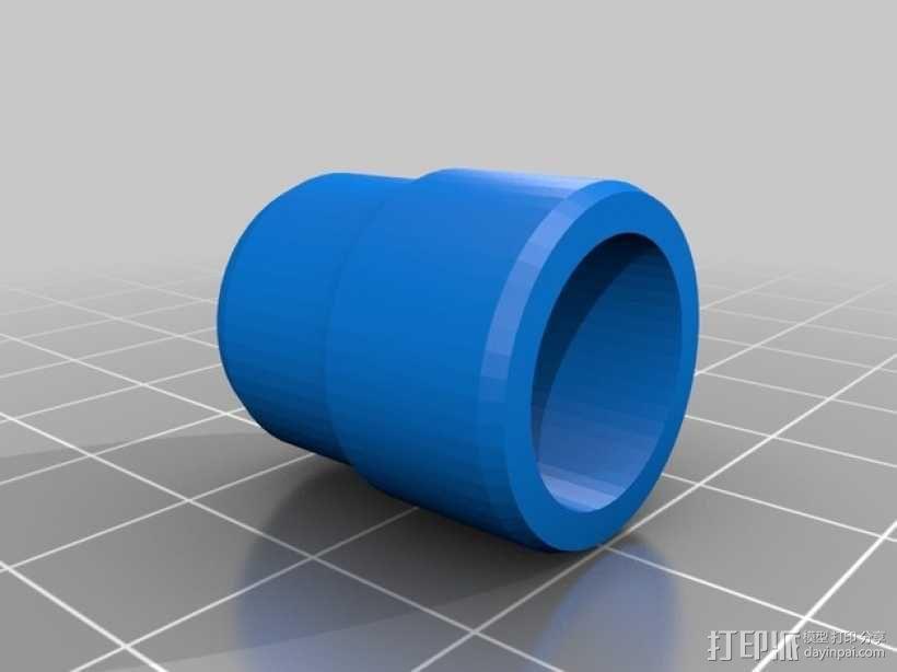 水族馆空气水泵零部件 3D模型  图6