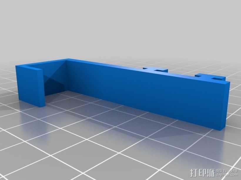 宜家遮光窗帘夹 3D模型  图2