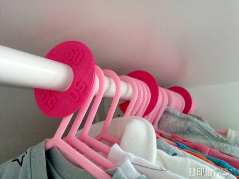 儿童服装分隔板 3D模型  图1