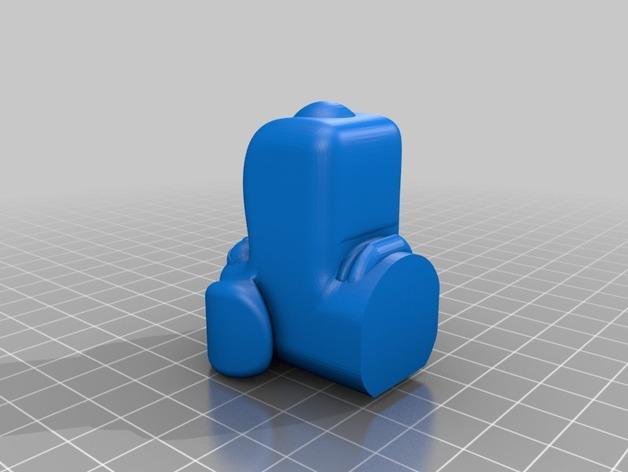 Brian笔筒 3D模型  图4