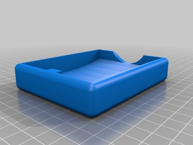 汤匙碟 3D模型  图2