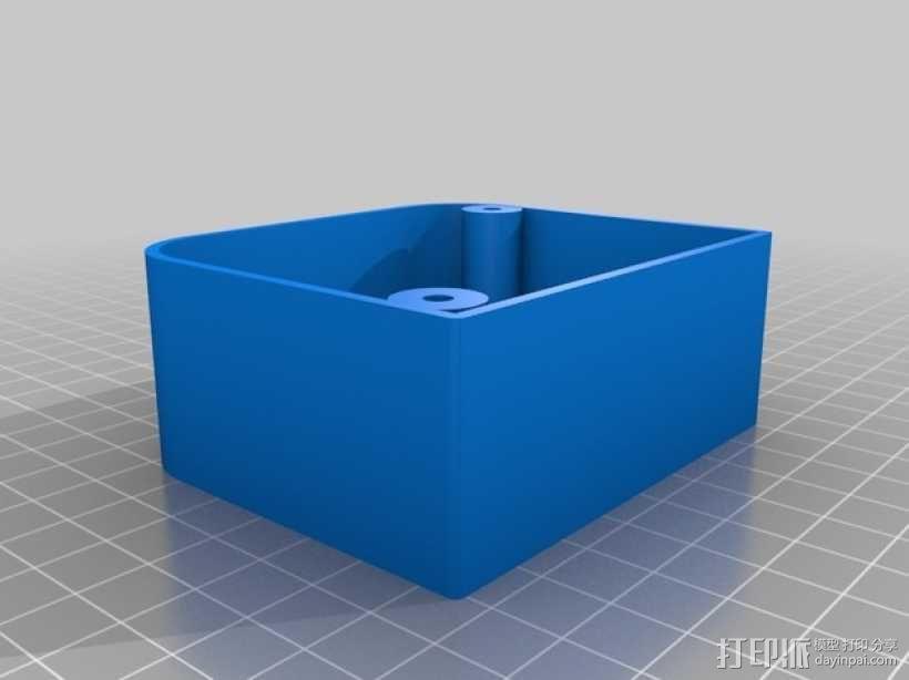 鼓风机伺服阻尼器 3D模型  图2