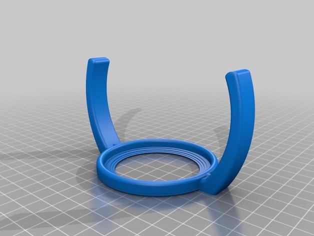 飞利浦奶瓶手柄 3D模型  图2